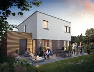 Image 1- Articles : Les caractéristique d'une maison basse consommation en Belgique.
