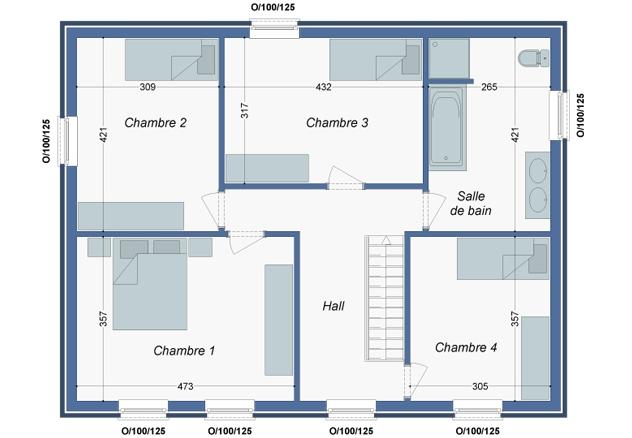 Plan_Maison_Cayenne_Etage