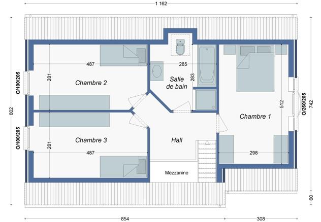 Plan_Maison_Curry_Etage