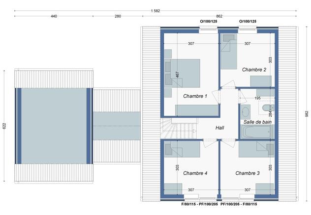 Plan_Maison_Hellebore_Etage
