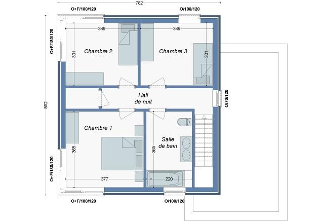 Plan_Maison_Kaki_Etage