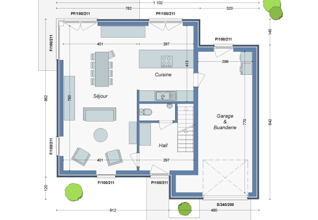 Plan_Maison_Kaki_RC