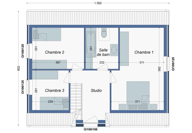 Plan_Maison_Origan_Etage