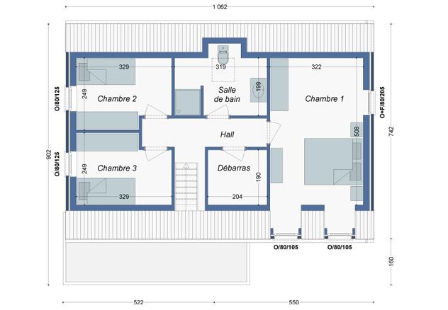 Plan_Maison_Platane_Etage