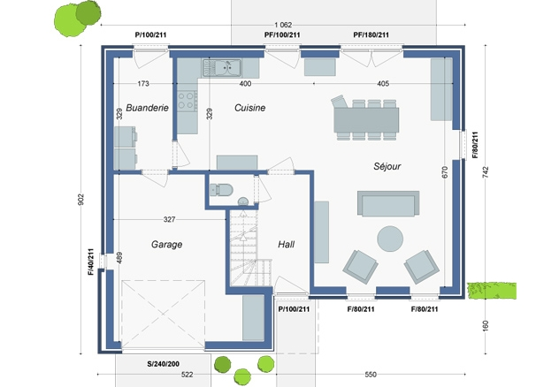 Plan_Maison_Platane_RC