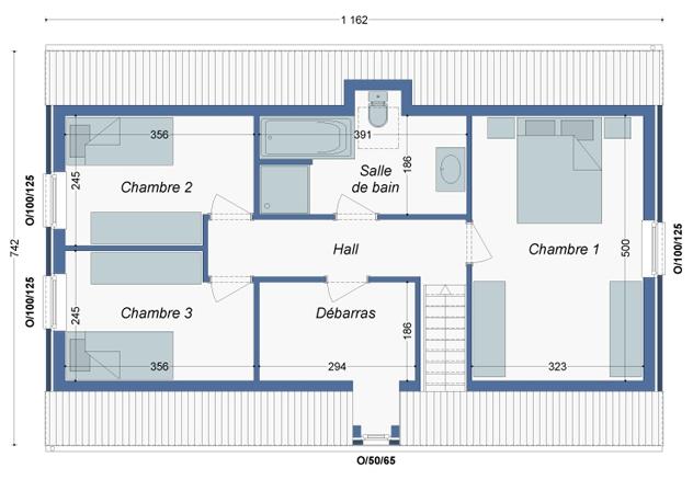 Plan_Maison_Thym_Etage